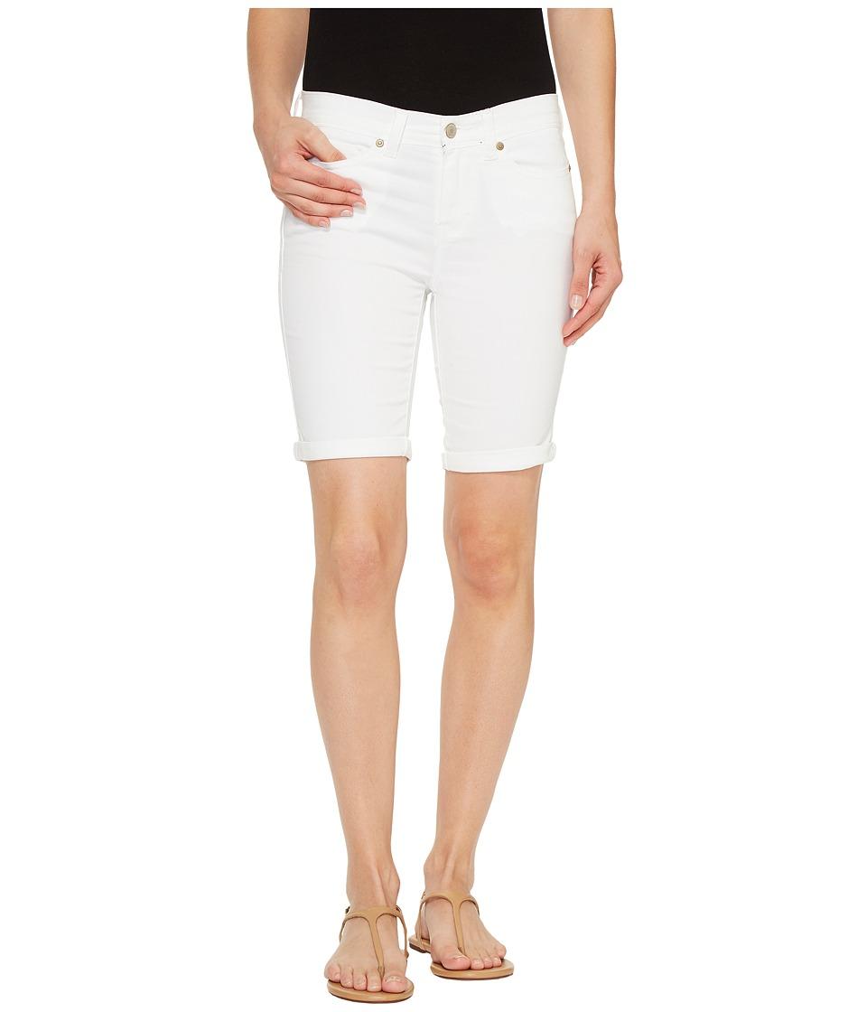 U.S. POLO ASSN. - Denim Bermuda Shorts (Optic White) Women's Shorts