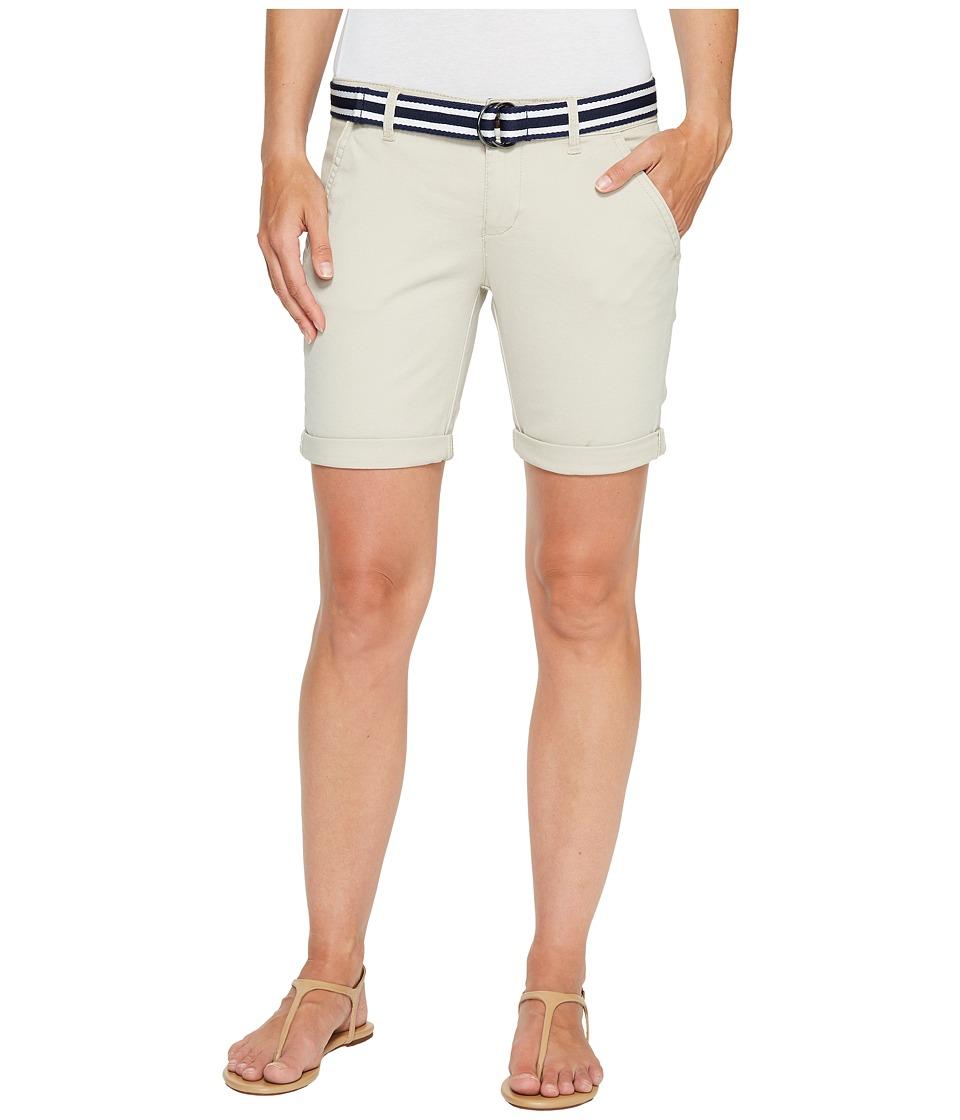U.S. POLO ASSN. - Relaxed Bermuda Shorts (Stone Pebble) Women's Shorts