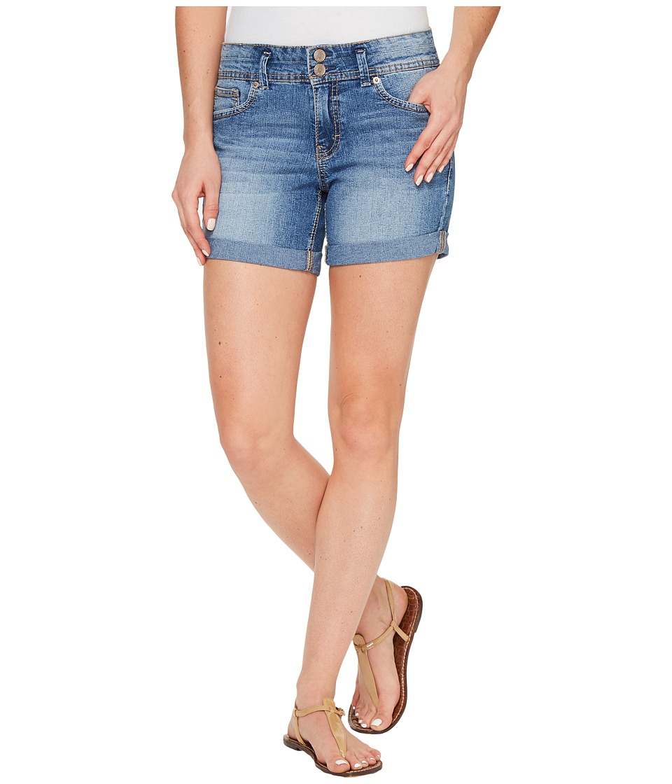 U.S. POLO ASSN. - Florence Stretch Denim High-Rise Shorts (Medium Antique) Women's Shorts