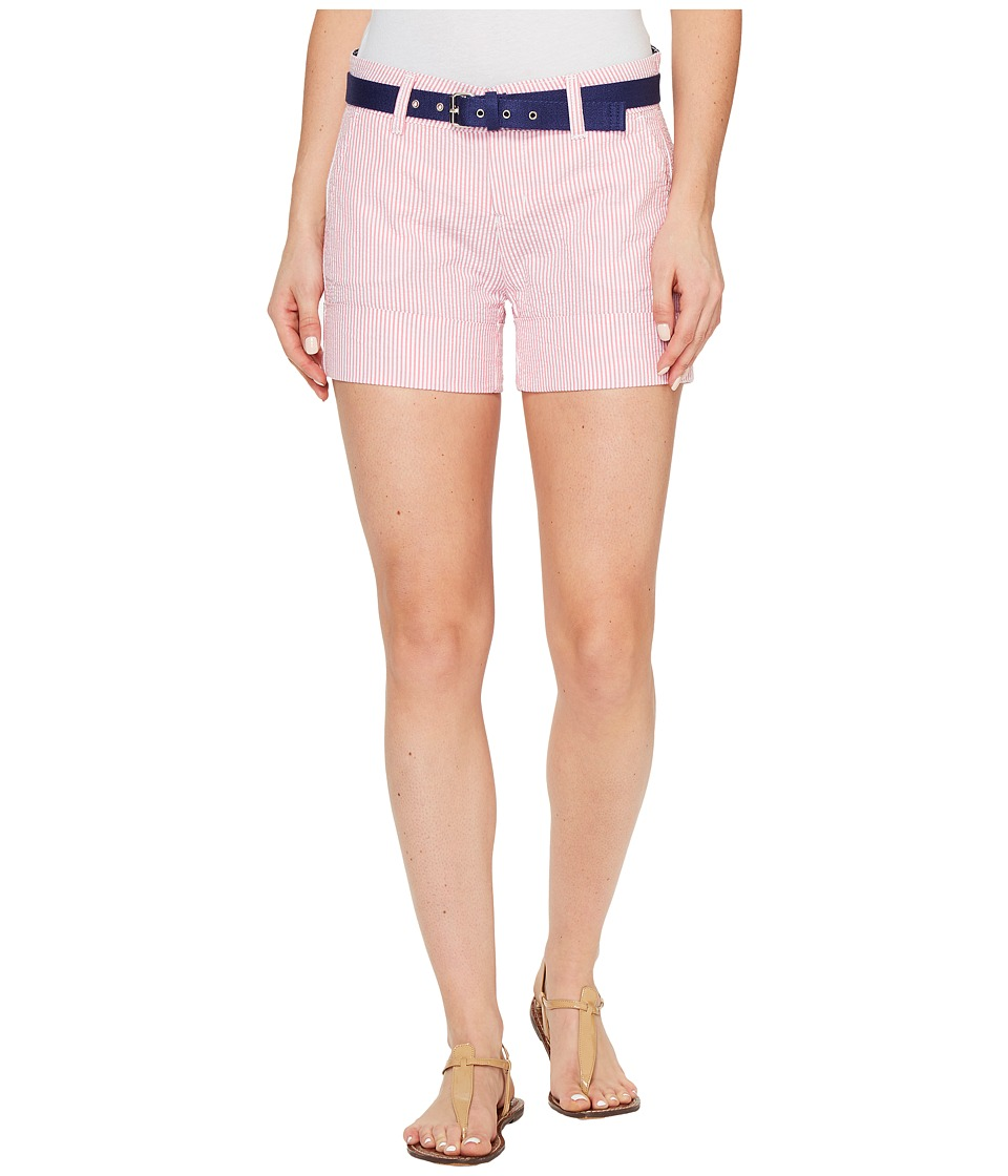U.S. POLO ASSN. - Chino Shorts (Hot Pink) Women's Shorts
