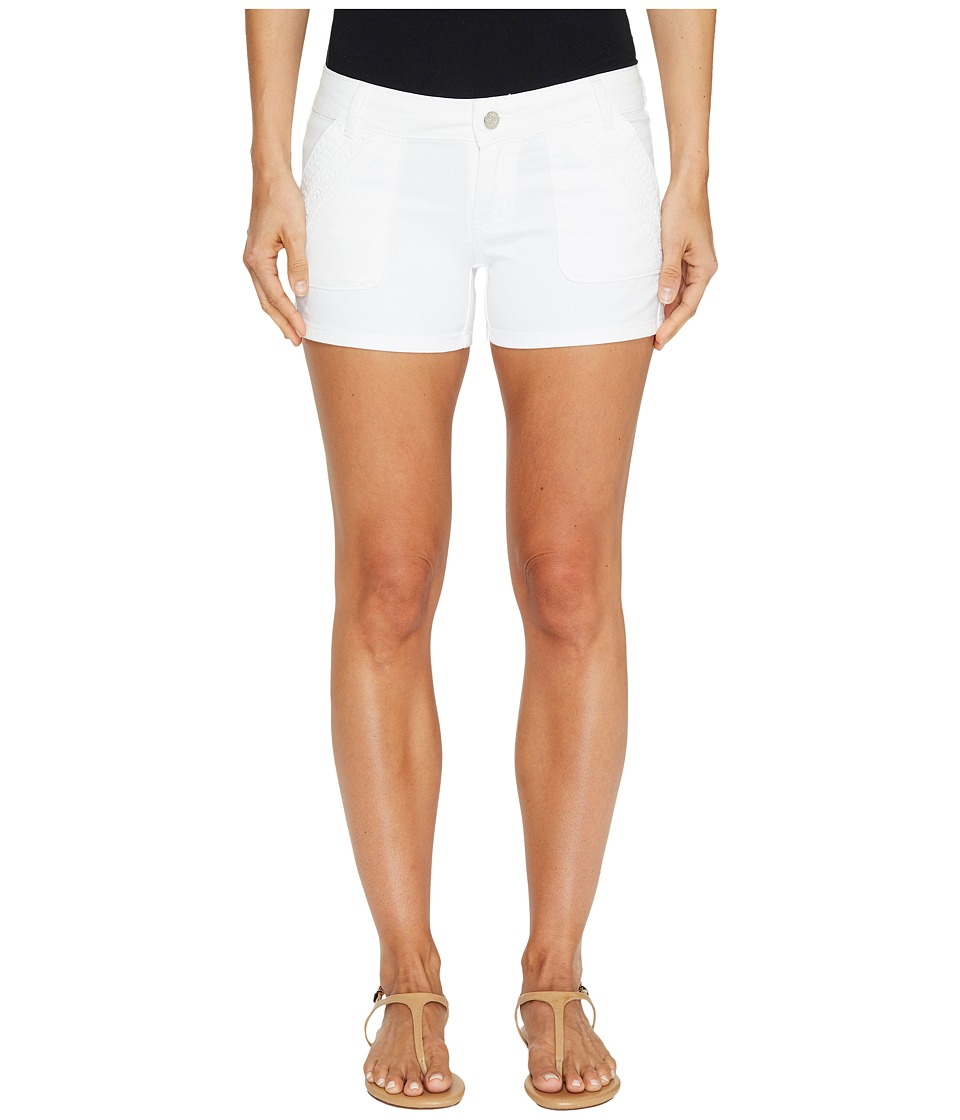 U.S. POLO ASSN. - Twill Short Shorts (Optic White) Women's Shorts