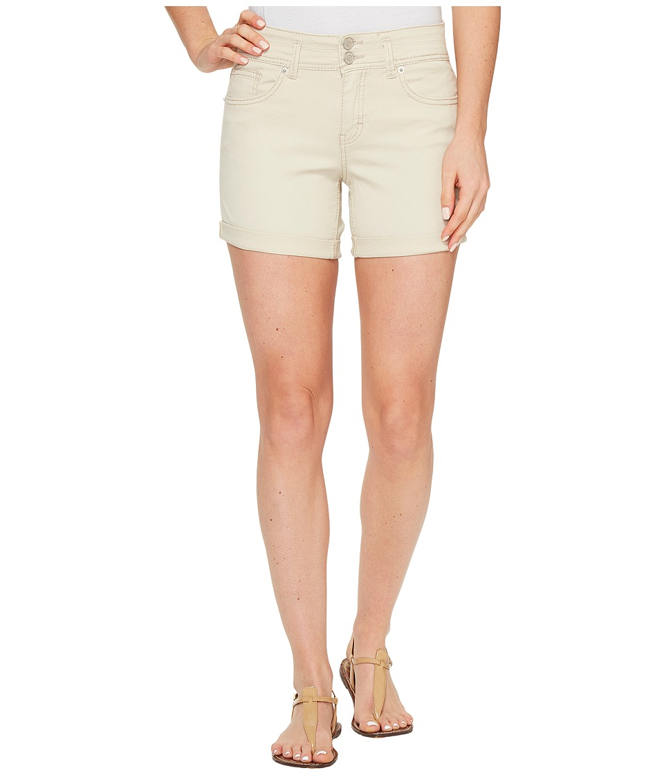 U.S. POLO ASSN. - Florence Stretch Denim High-Rise Shorts (Stone Pebble) Women's Shorts