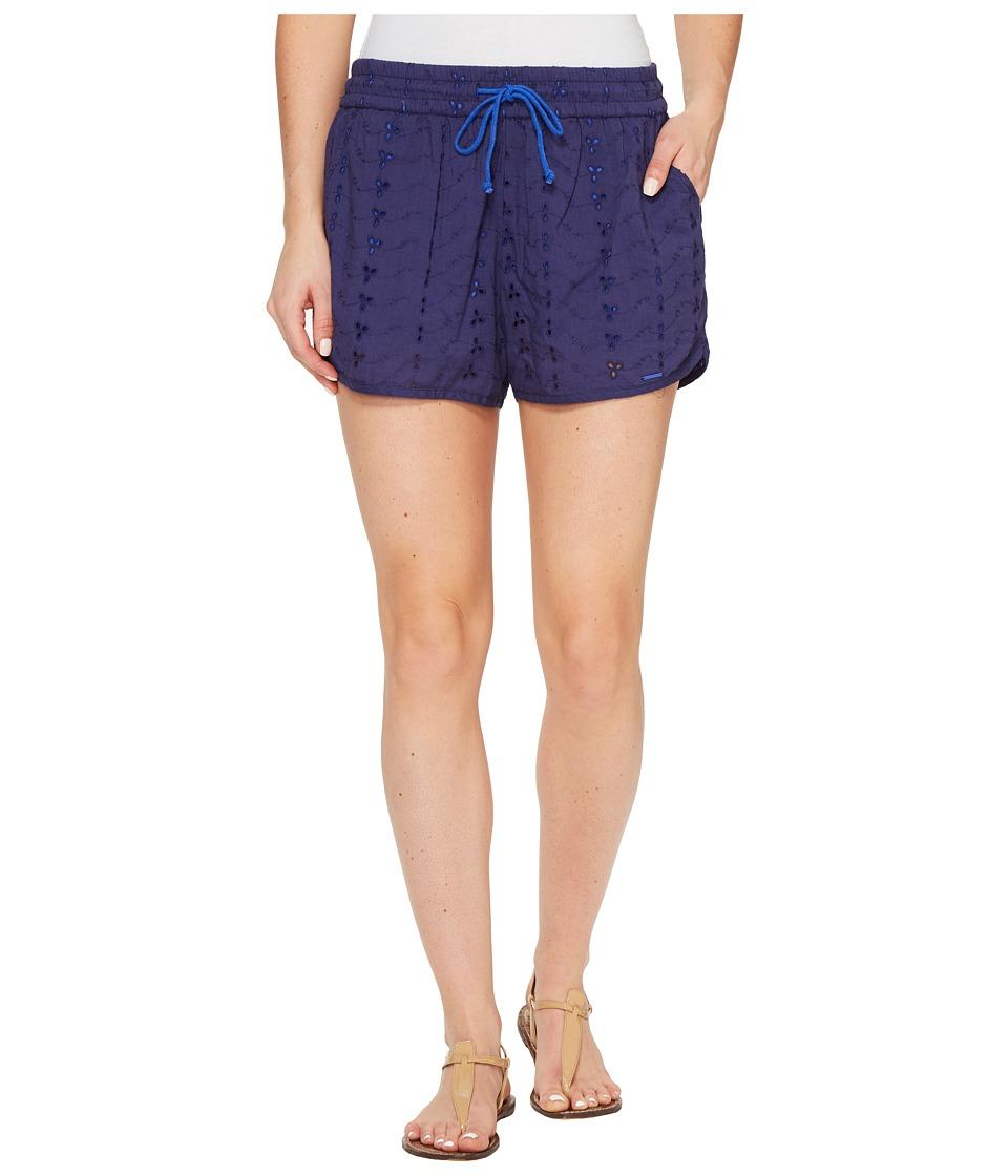 U.S. POLO ASSN. - Eyelet Dolphin Shorts (Patriot Blue) Women's Shorts