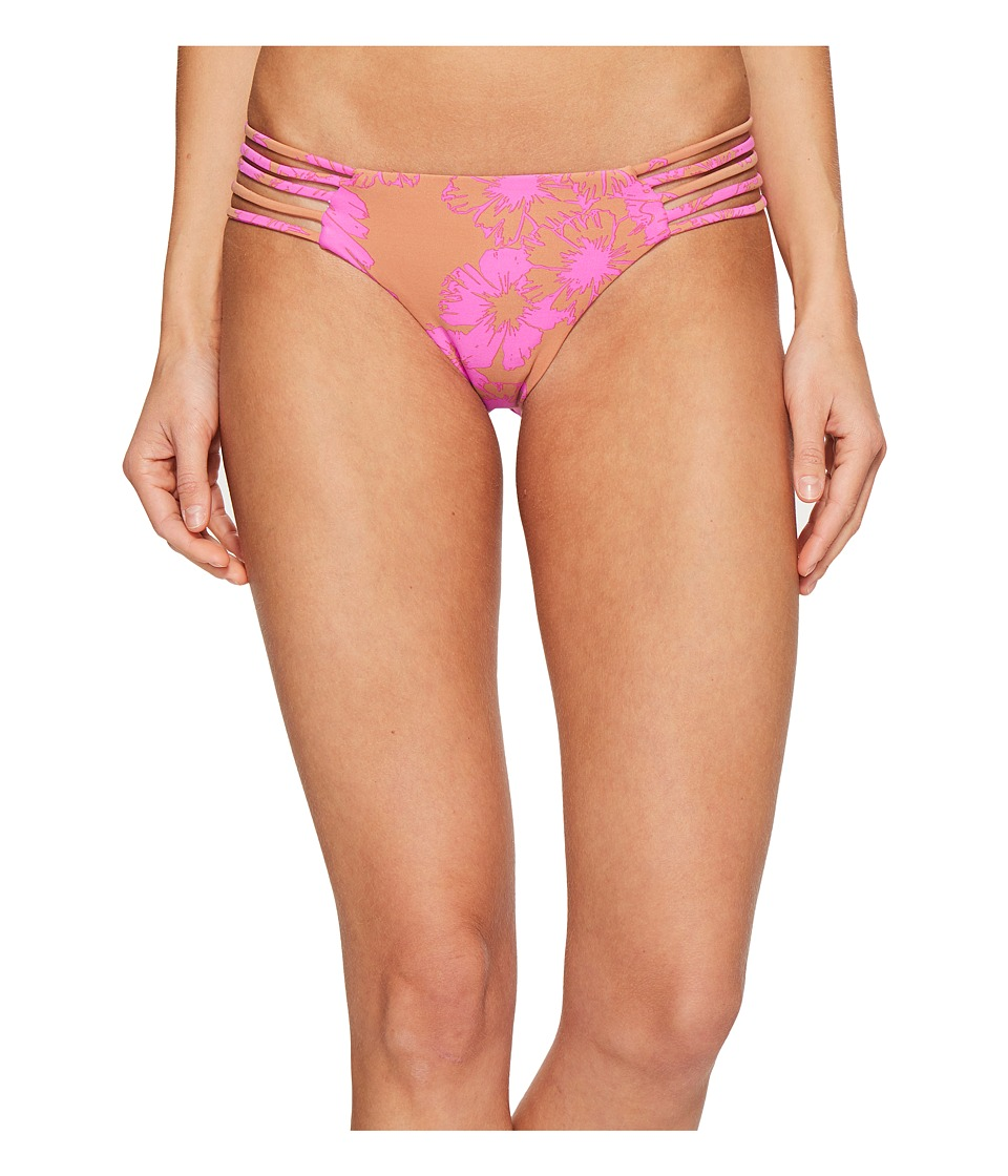 Amuse Society Nillia Cheeky Swim Bottom (Taupe) Women