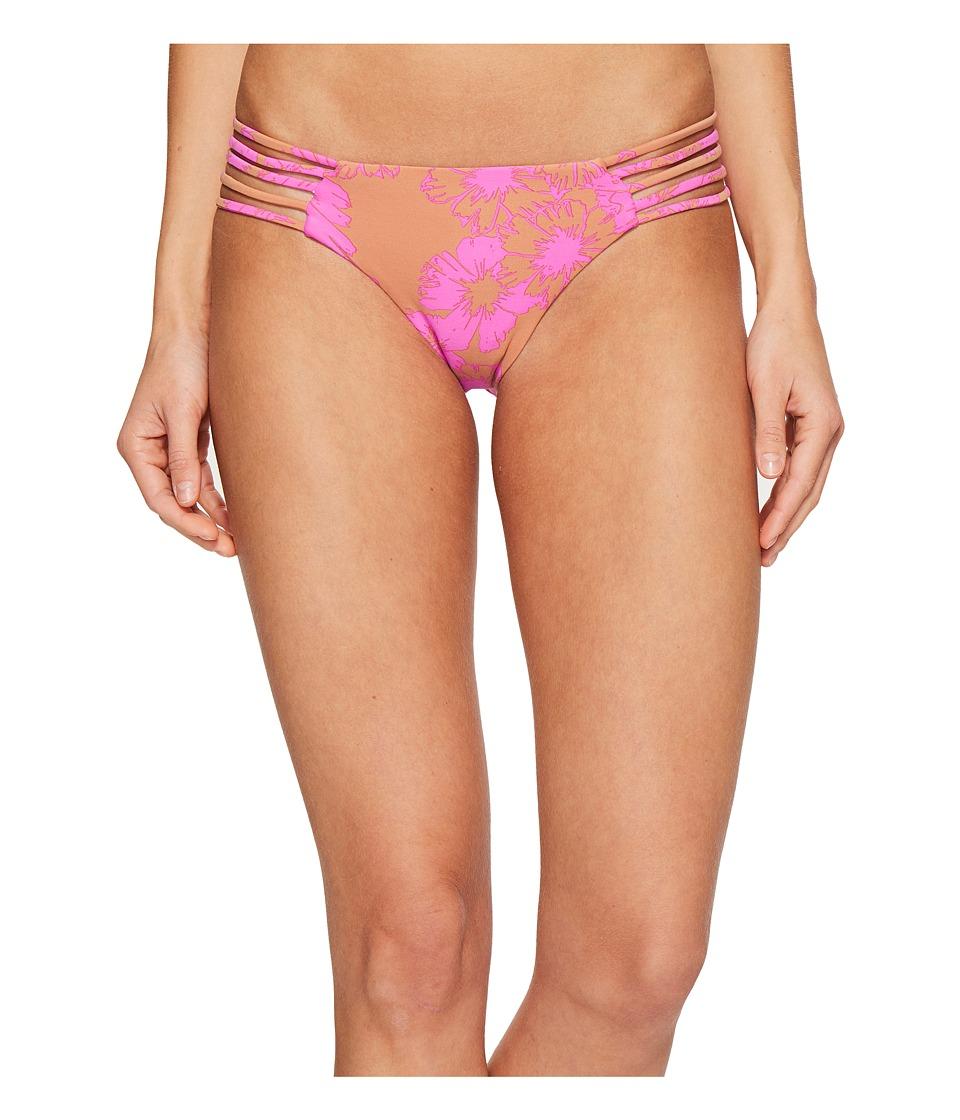 Amuse Society - Nillia Cheeky Swim Bottom (Taupe) Women's Swimwear