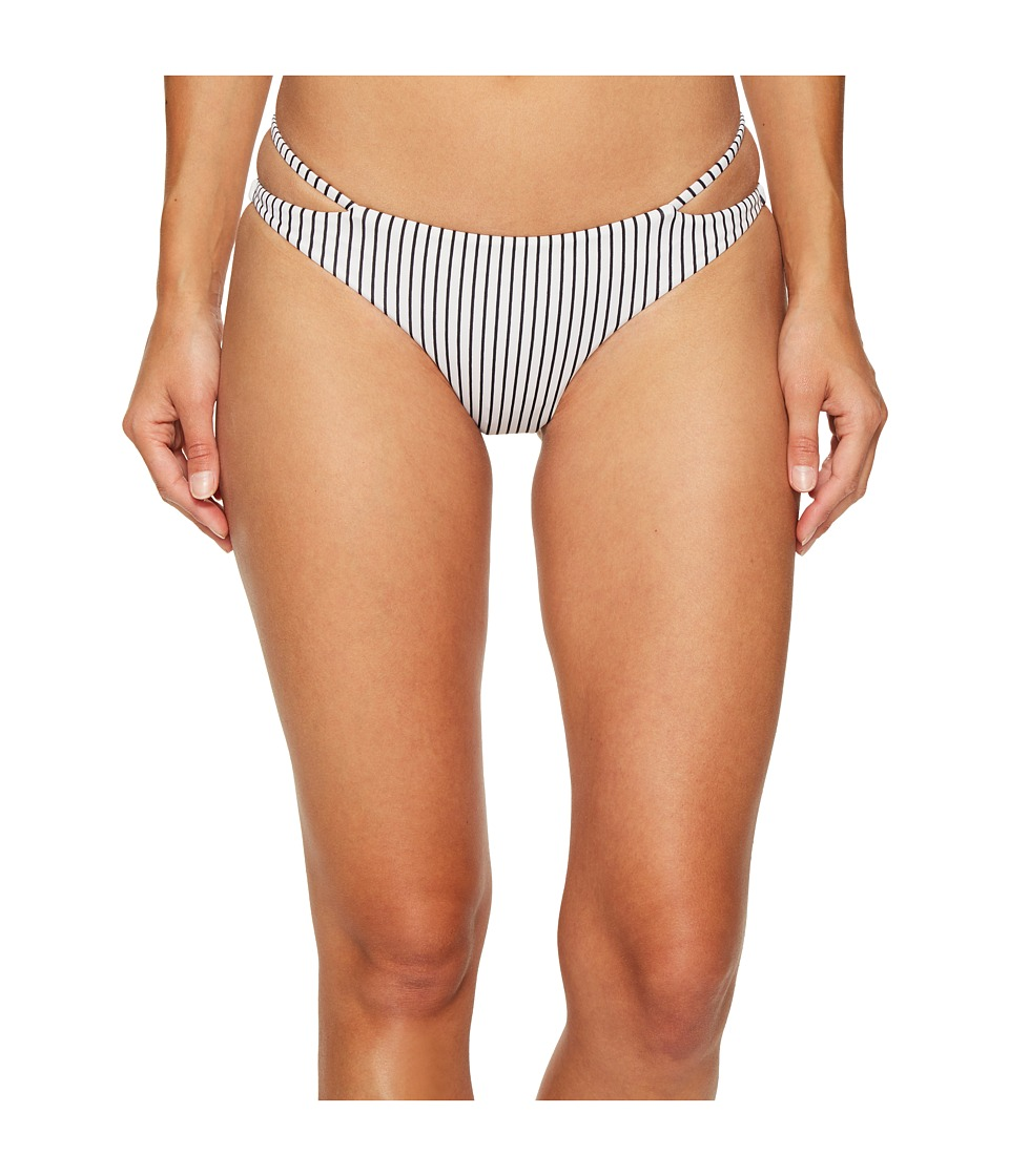 Amuse Society Dayla Cheeky Swim Bottom (Casa Blanca) Women