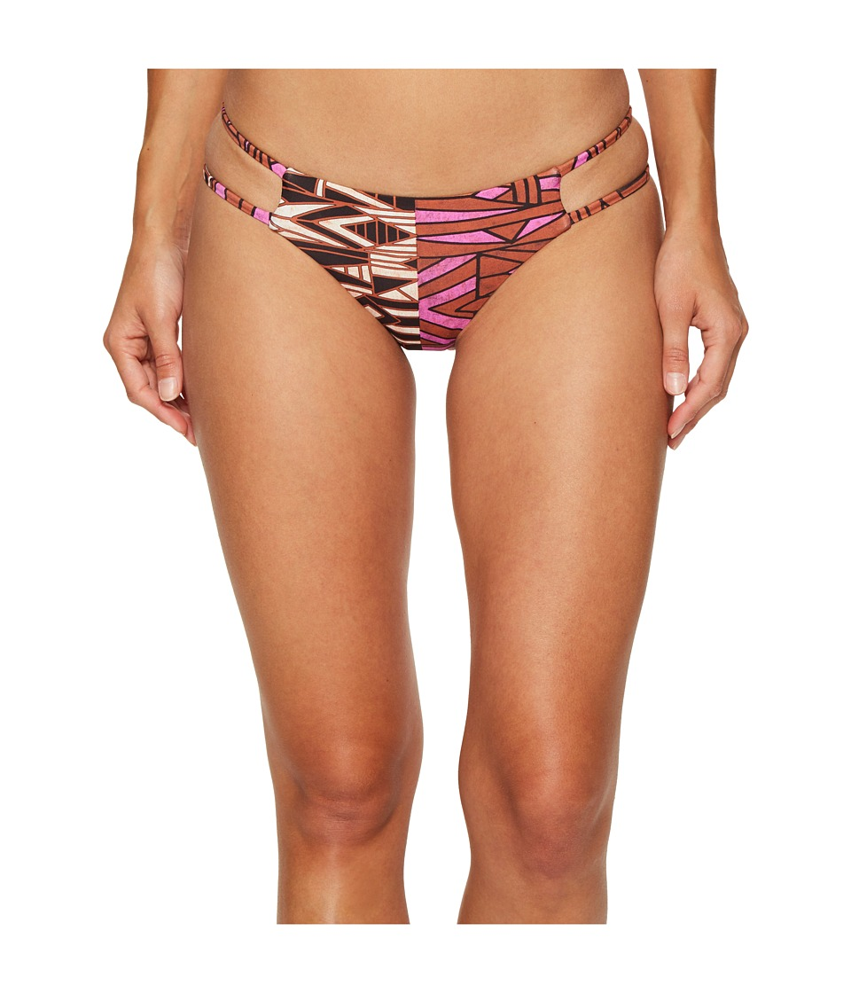 Amuse Society Kean Cheeky Swim Bottom (Baked Clay) Women