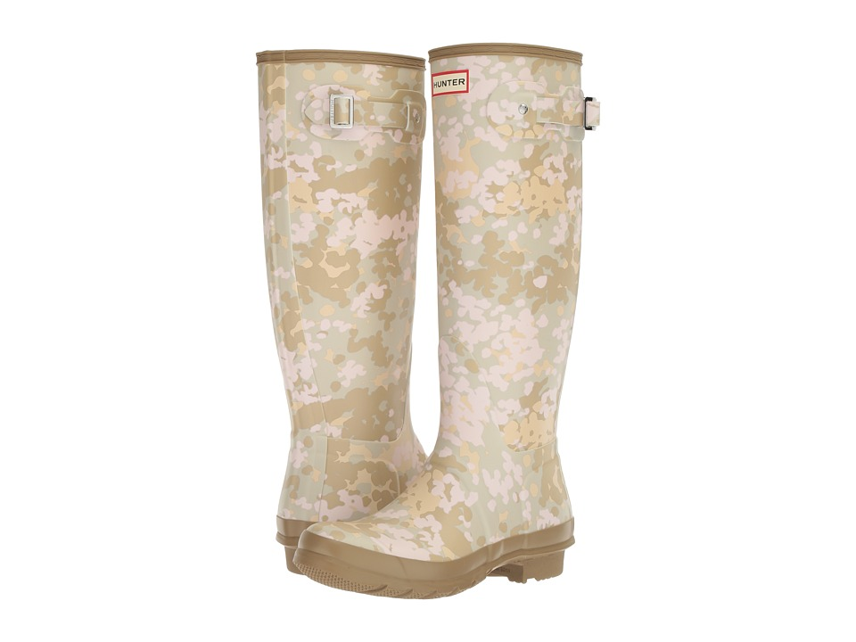 Hunter Original Tall Flecktarn Camo (Pale Sand) Women