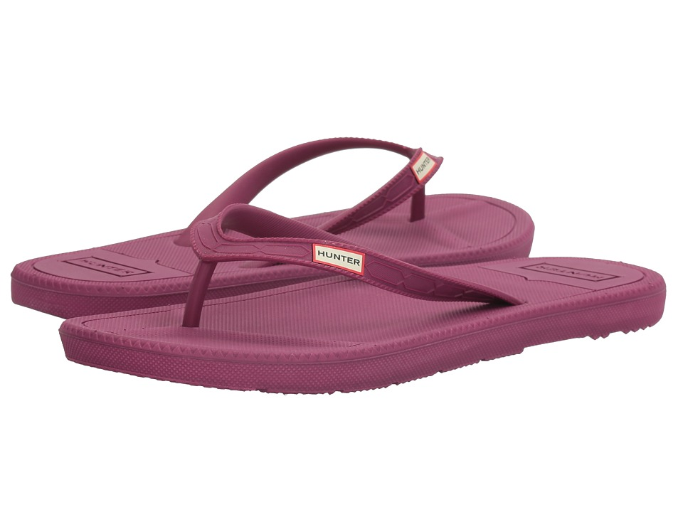 Hunter - Original Flip-Flop (Bright Violet) Women's Shoes