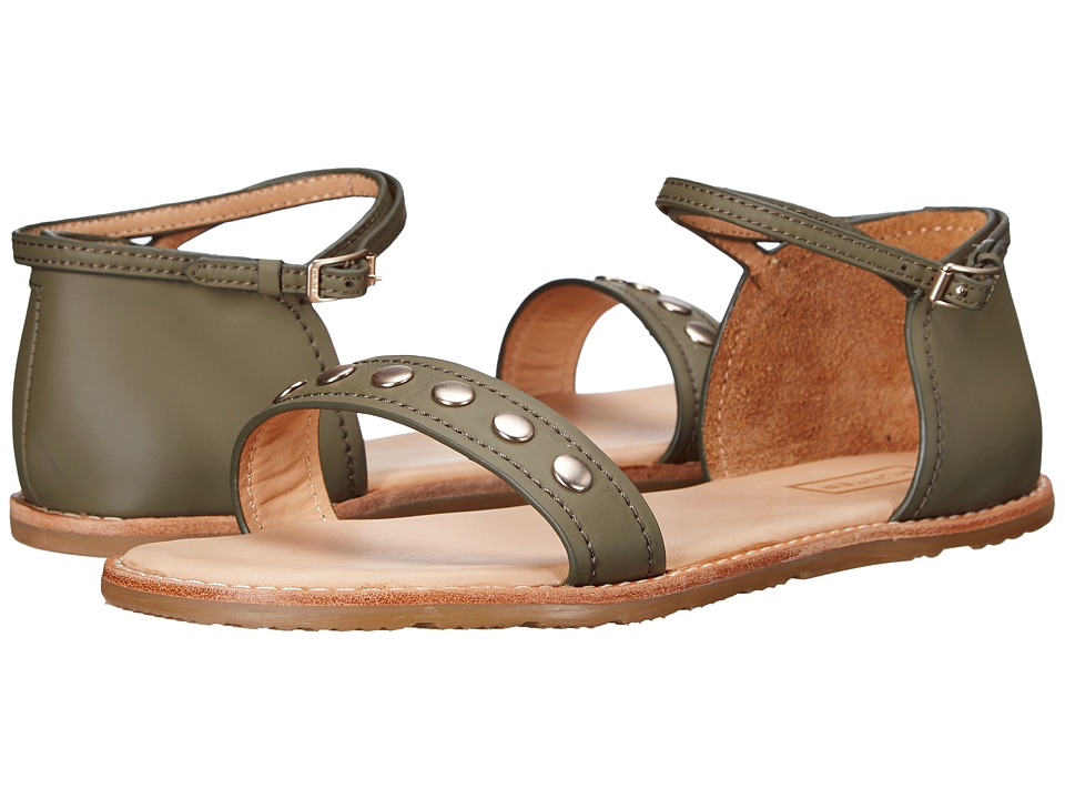Hunter - Original Leather Studded Sandal (Sage) Women's Sandals