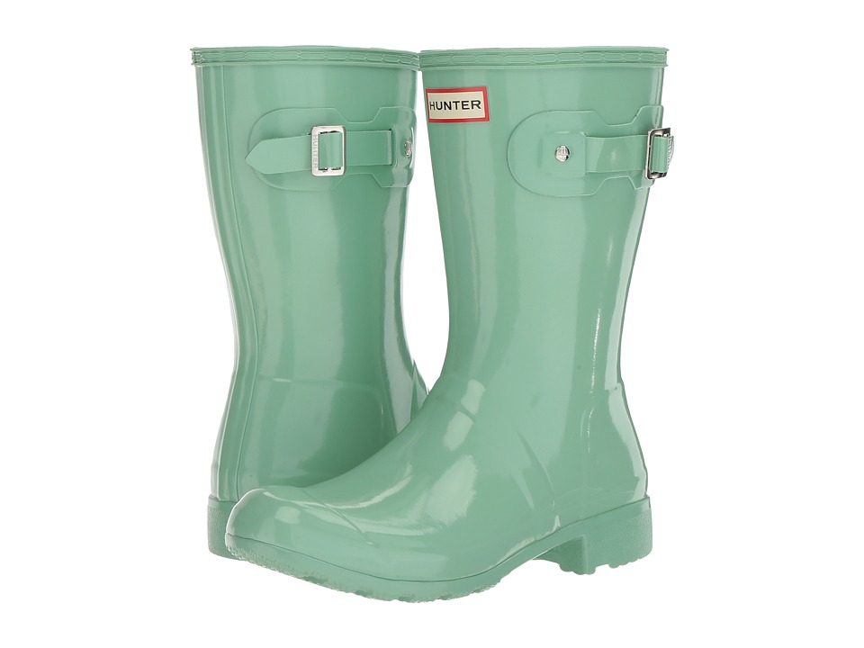 Hunter - Original Tour Short Gloss (Light Succulent) Women's Rain Boots