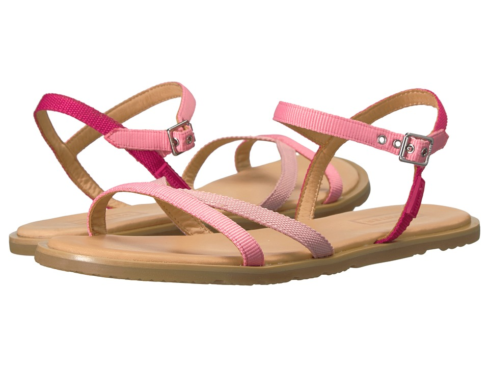 Hunter - Original Web Cross Front Sandal (Panther Pink/Pink Sand/Mosse Pink/Gum) Women's Sandals