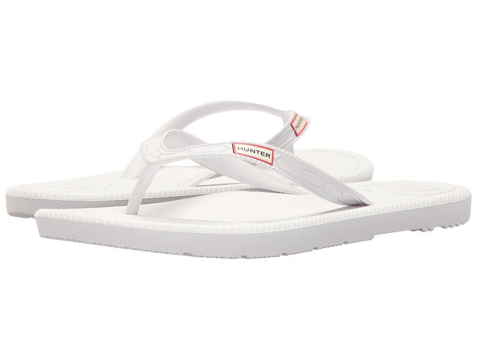 Hunter - Original Flip-Flop (White) Women's Shoes