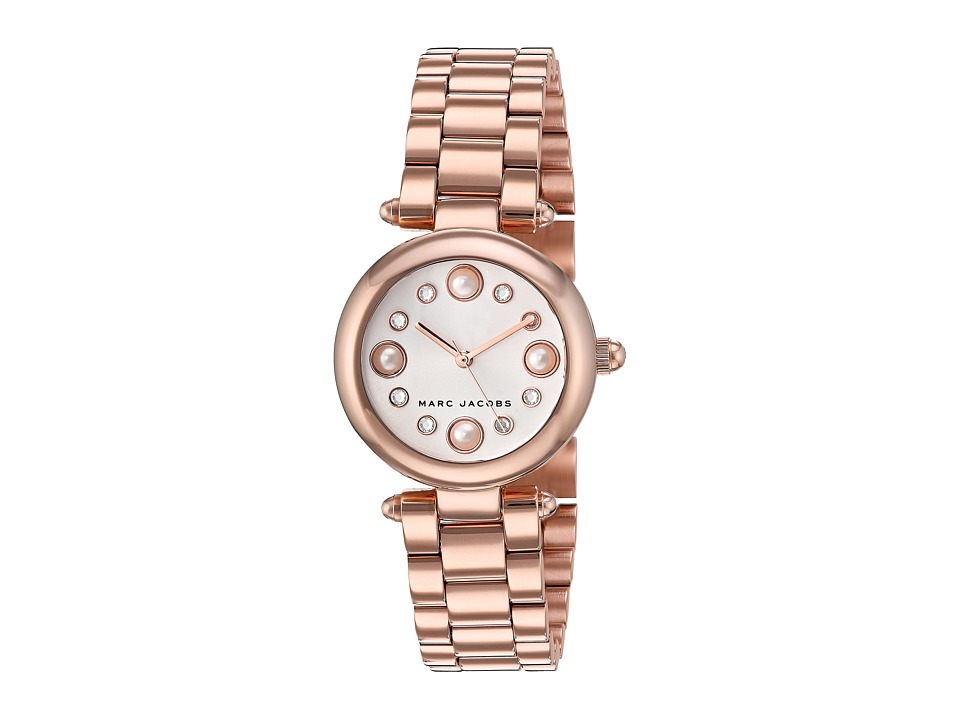 Marc by Marc Jacobs - Dotty - MJ3520 (Rose Gold/White) Watches