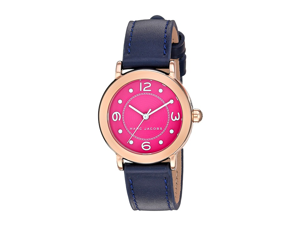 Marc by Marc Jacobs - Riley - MJ1558 (Rose Gold/Navy) Watches
