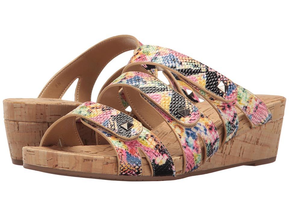 Vaneli - Karen (Multi Davos Print) Women's Sandals