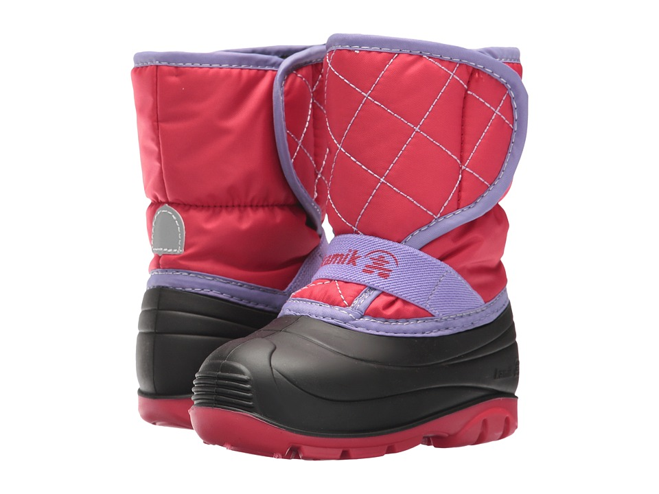 Kamik Kids Pika2 (Toddler) (Dark Rose) Girl's Shoes