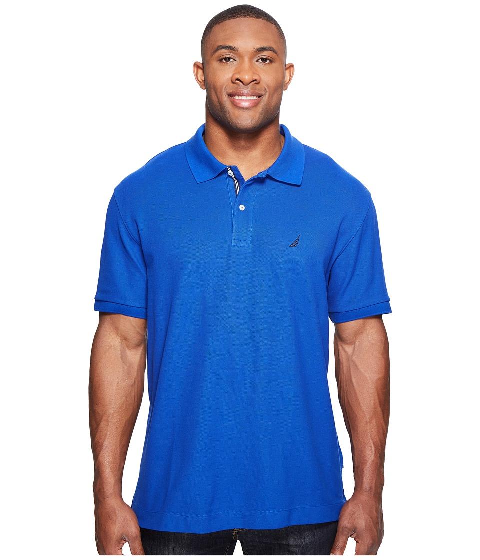 Nautica Big & Tall - Big Tall Short Sleeve Deck Shirt (Bright Cobalt) Men's Clothing