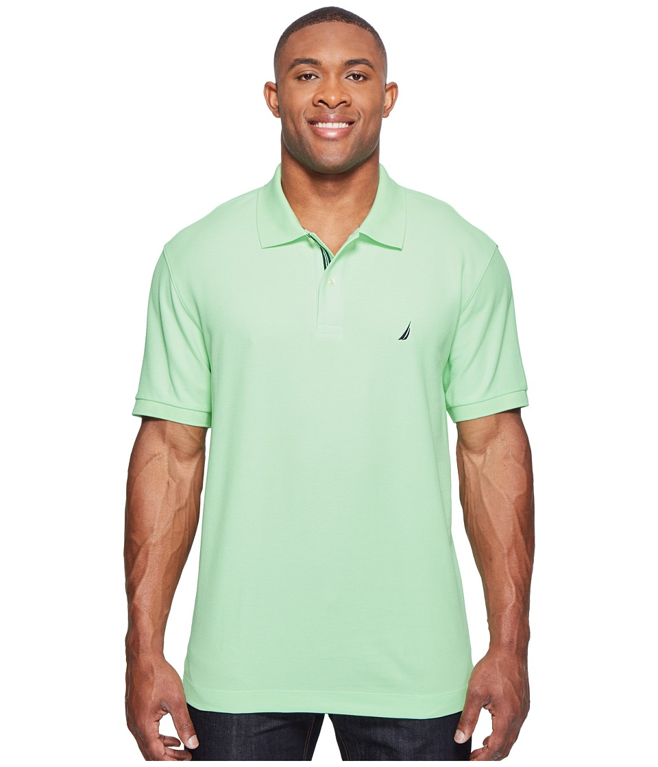Nautica Big & Tall - Big Tall Short Sleeve Deck Shirt (Patina Green) Men's Clothing