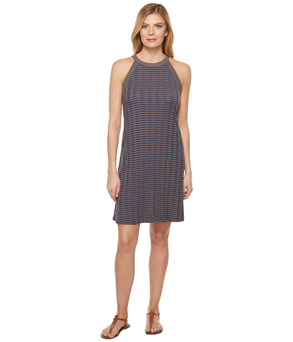 Three Dots - A-Line Dress (Slate Grey) Women's Dress