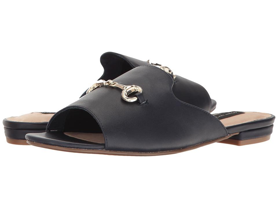 Steven Fela (Navy Leather) Women's Shoes