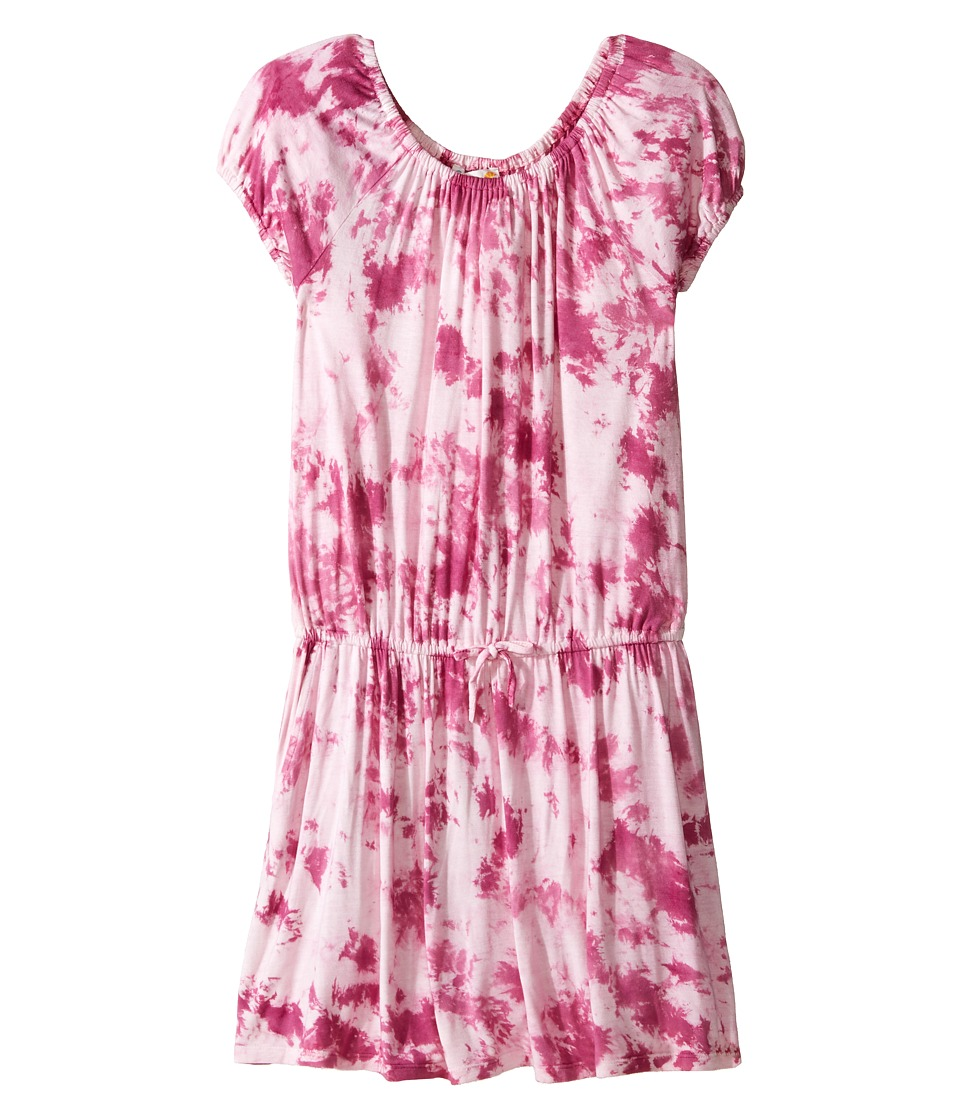 C&C California Kids - Tie-dye Dress (Little Kids/Big Kids) (Rasberry) Girl's Dress