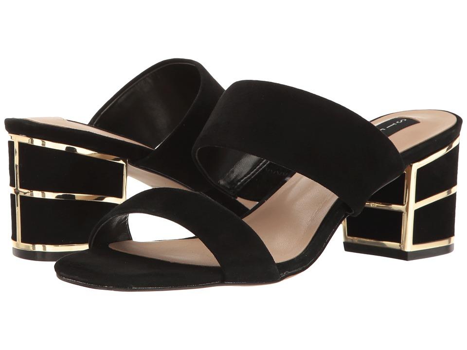 Steven - Siggy (Black Suede) Women's Shoes