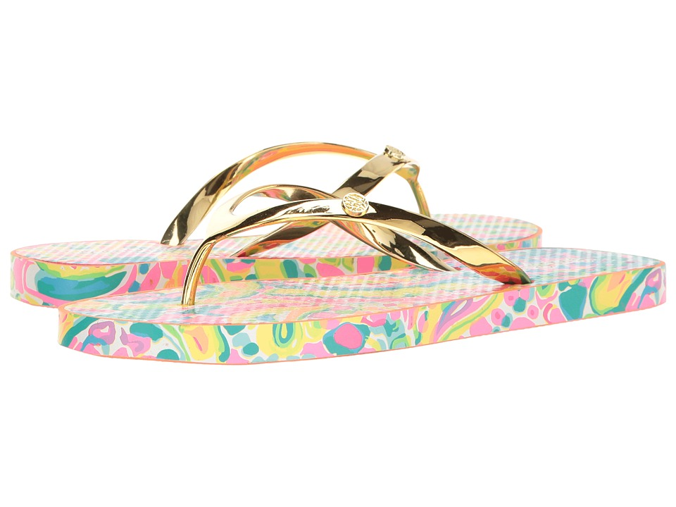 Lilly Pulitzer - Pool Flip-Flop (Multi) Women's Sandals