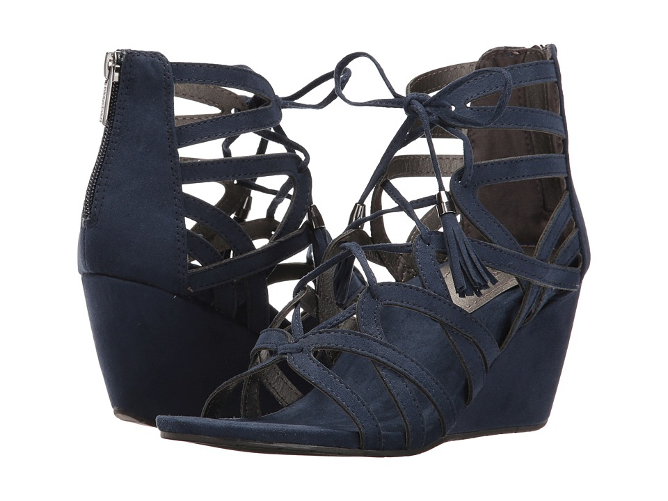 Kenneth Cole Reaction - Cake Pop (Navy) Women's Wedge Shoes