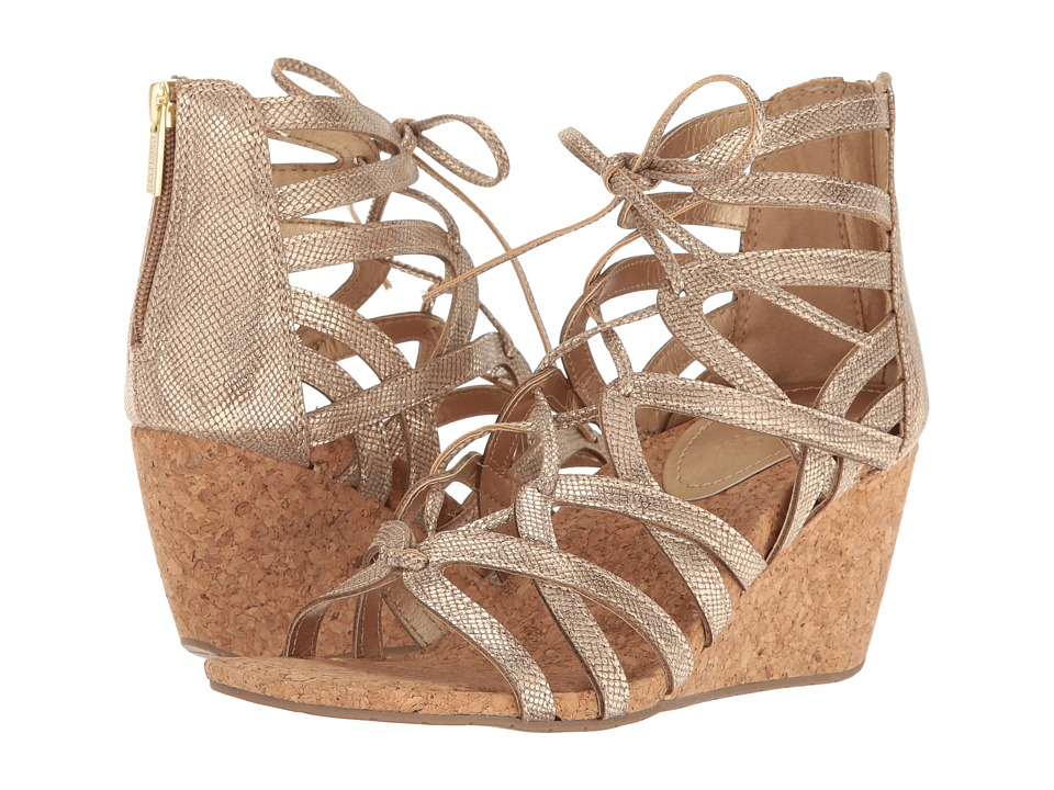 Kenneth Cole Reaction - Cake Pop (Soft Gold) Women's Wedge Shoes