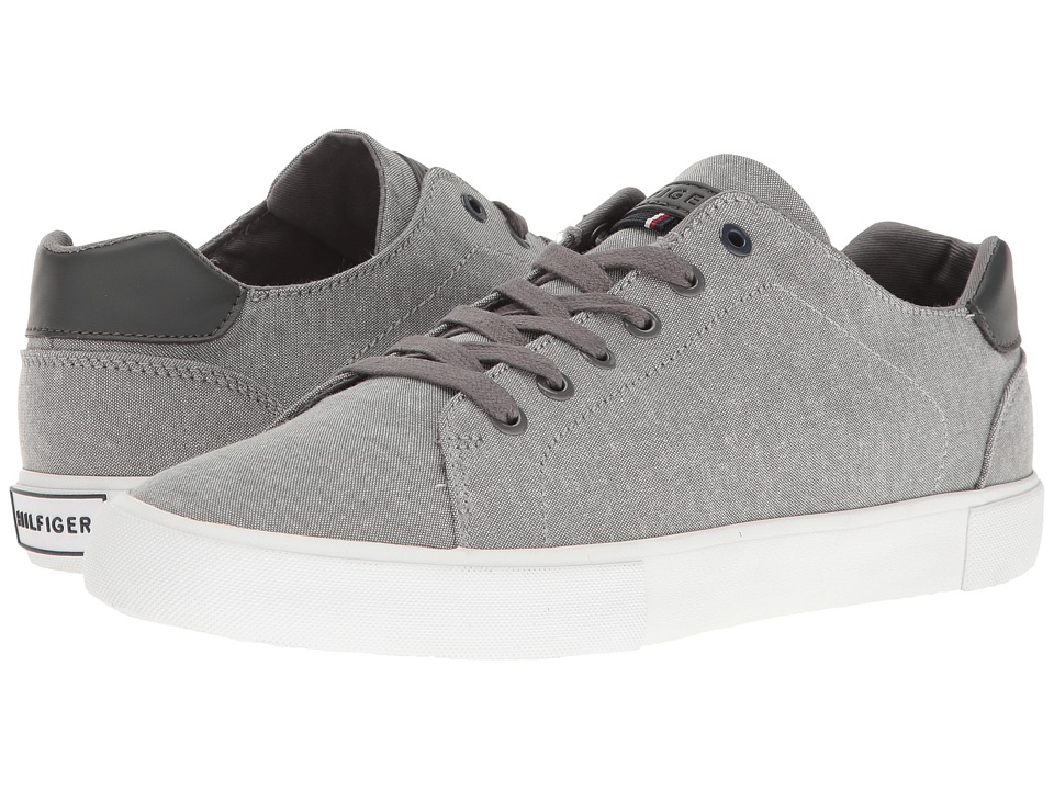Tommy Hilfiger - Pawleys (Grey Fabric) Men's Shoes
