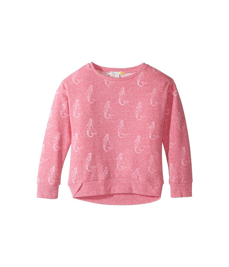 C&C California Kids - Seahorse Top (Little Kids/Big Kids) (Hibiscus Bloom) Girl's Clothing