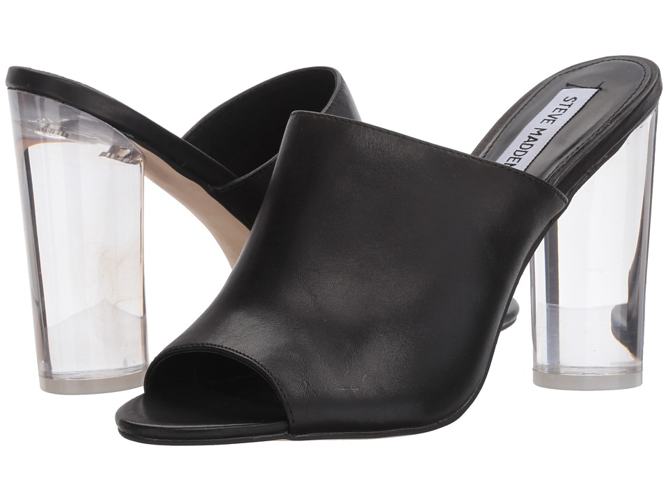 Steve Madden - Classics (Black Leather) Women's Shoes