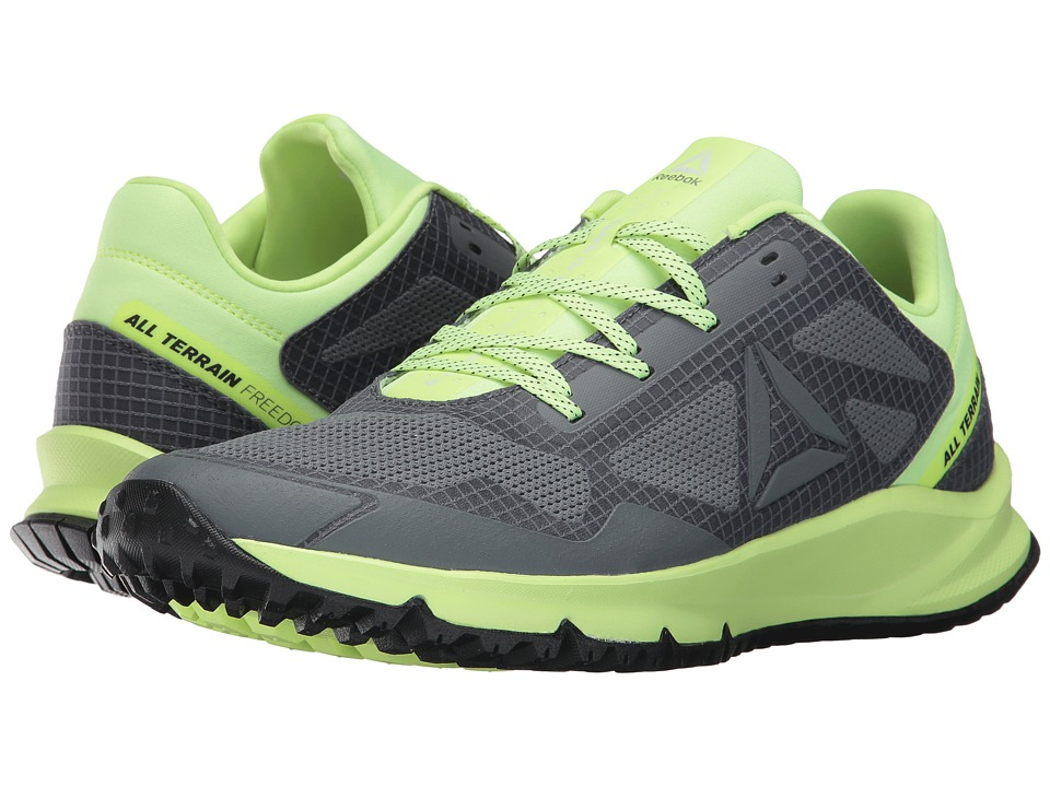 Reebok - All Terrain Freedom EX (Black/Electric Flash/White/Pewter/Alloy) Men's Running Shoes