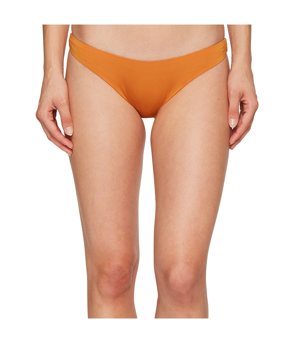 Dolce Vita - Solids High Cut Leg Bottom (Caramel) Women's Swimwear