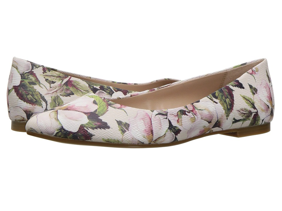 BCBGeneration Millie (Chalk Watercolor Flower/Smooth Nappa) Women