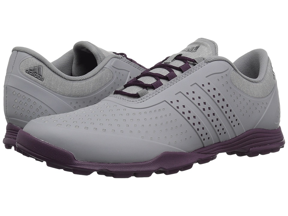 adidas Golf Adipure Sport (Grey Four/Red Night/Red Night) Women