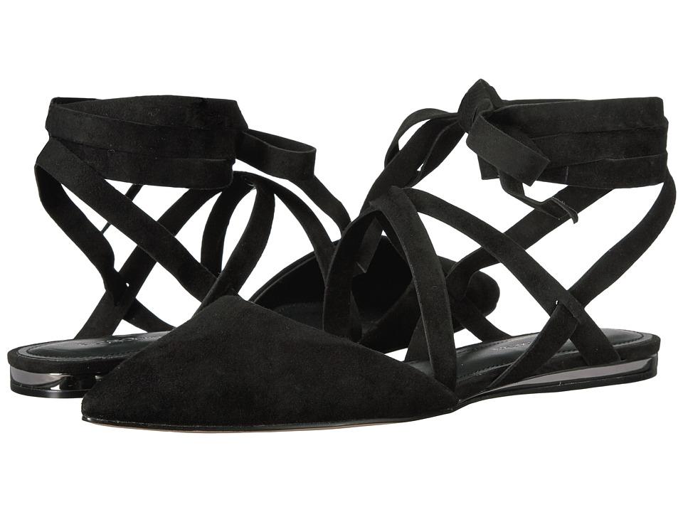 BCBGeneration - Noel (Black Kid Suede/Microsuede) Women's Shoes
