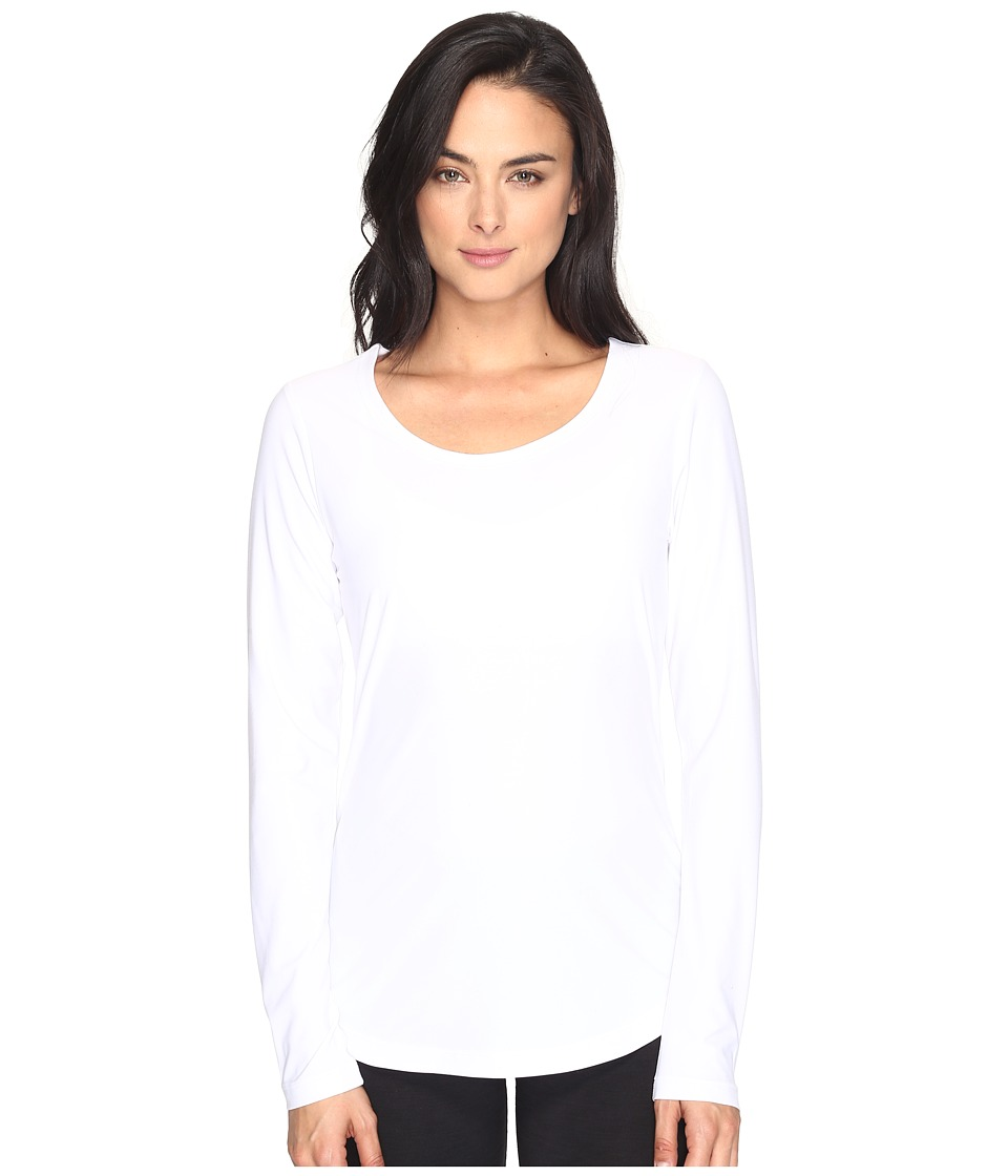 Lole - Kylie Long Sleeve Top (White) Women's Long Sleeve Pullover