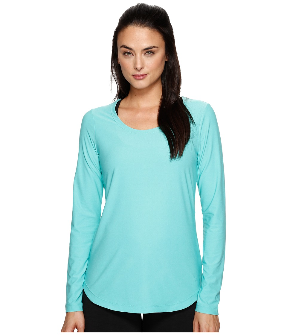 Lole - Kylie Long Sleeve Top (Turquoise) Women's Long Sleeve Pullover