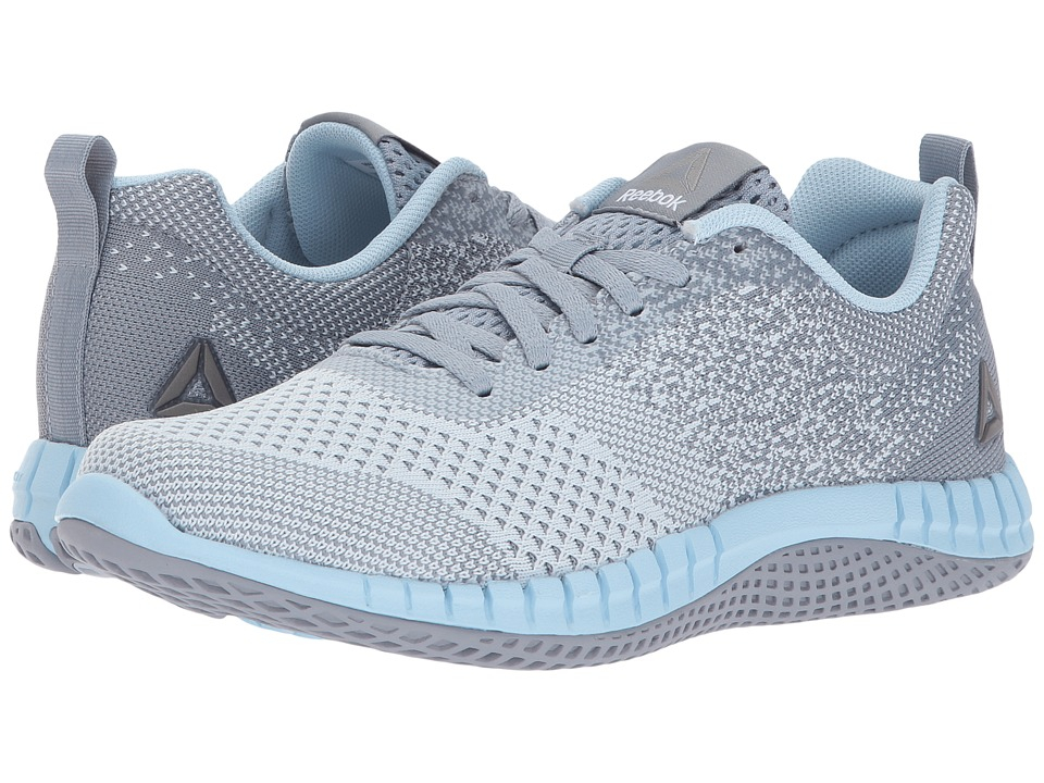 Reebok Print Run Prime ULTK (Cloud Grey/Meteor Grey/Fresh Blue) Women