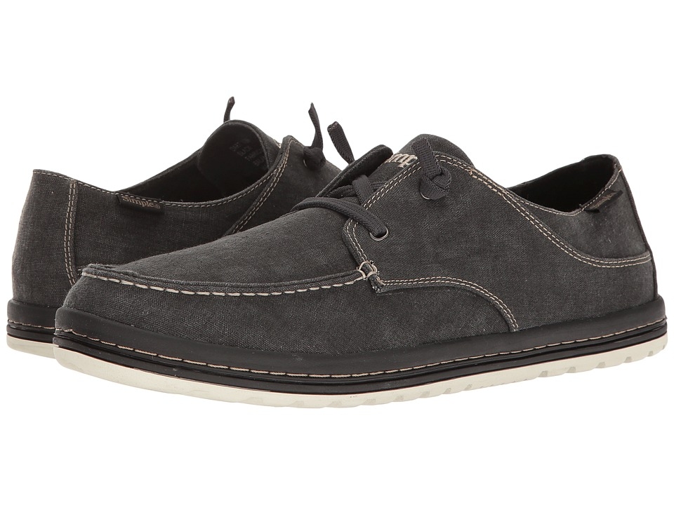 Simple - Dart (Black Linen) Men's Shoes