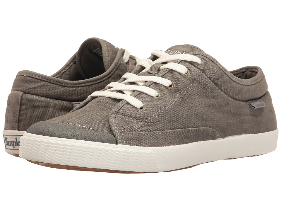 Simple - Wingman (Light Gray Dye Wash) Men's Shoes
