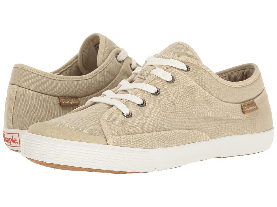 Simple - Wingman (Natural Dye Wash) Men's Shoes