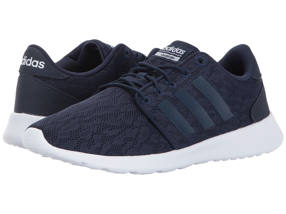 adidas - Cloudfoam QT Racer (Navy/White) Women's Running Shoes