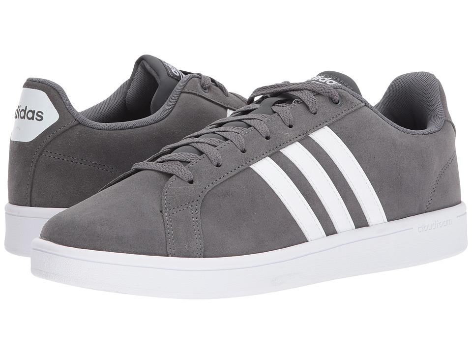 adidas - Advantage (Grey/White/Grey) Men's Basketball Shoes