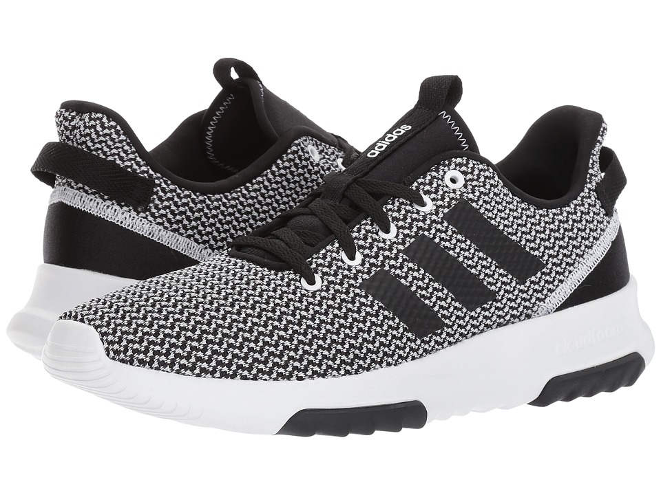 adidas - Cloudfoam Racer TR (White/Black/White) Men's Running Shoes