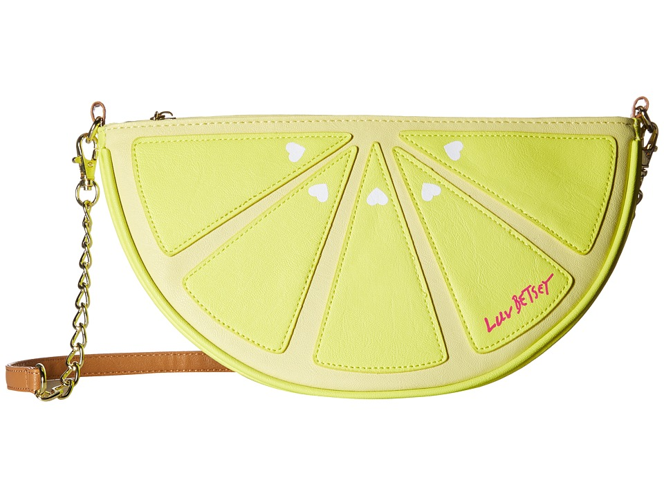 Luv Betsey - Tutti Kitch Crossbody (Yellow) Cross Body Handbags