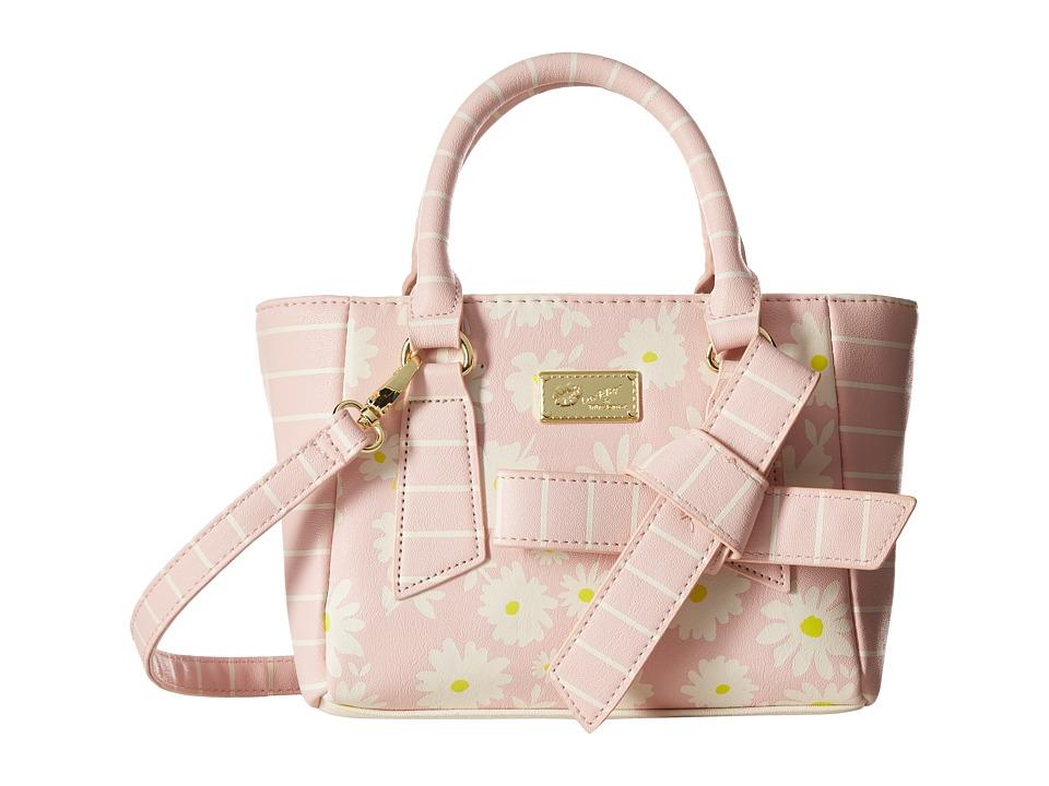 Luv Betsey - Belle PVC Mini Satchel (Blush) Satchel Handbags
