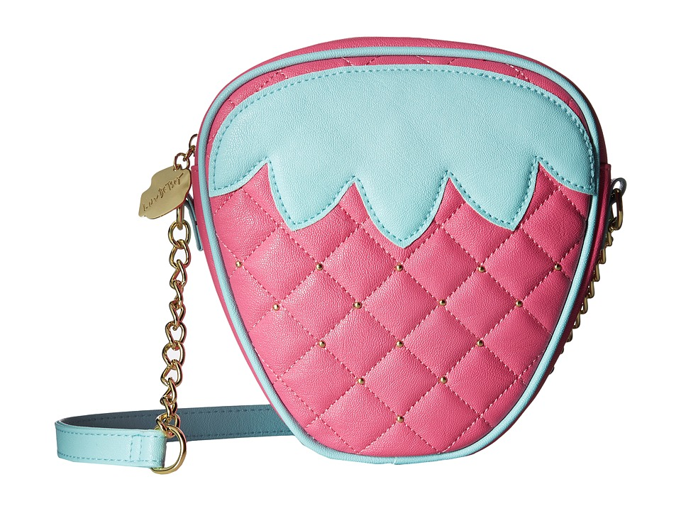 Luv Betsey - Berries Kitch Crossbody (Pink) Cross Body Handbags